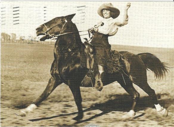 CowgirlPostcard